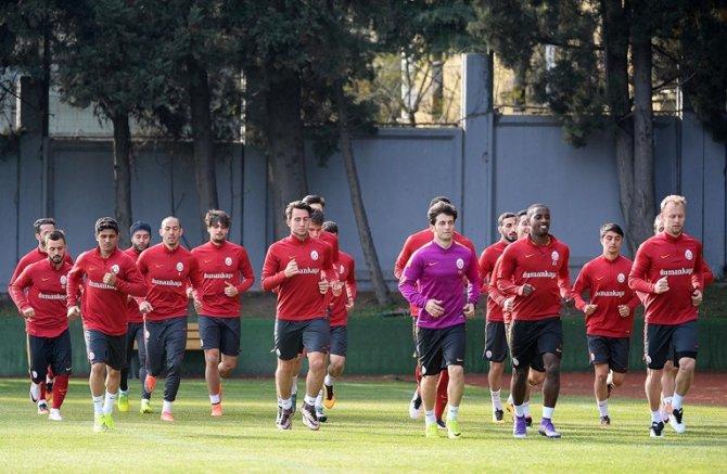 Galatasaray, Eskişehirspor maçı için hücum çalıştı