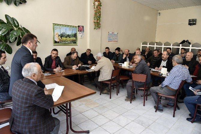 Başkan Çimen, Sanayi Esnafına AVM Projesini Anlattı