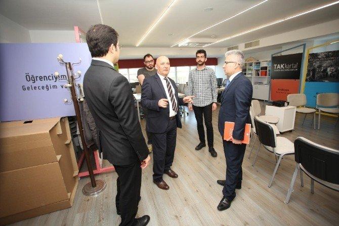 Başsavcı Fehmi Tosun'dan Başkan Altınok Öz'e Ziyaret