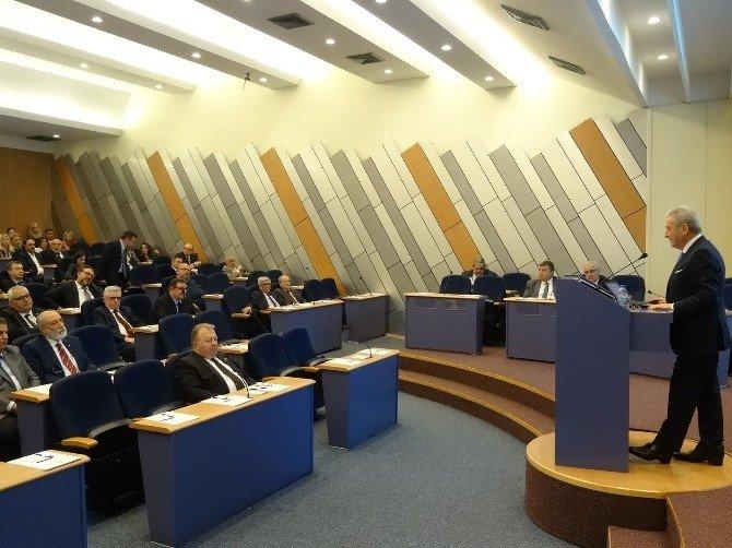 İzmir Ticaret Odası Meclis Toplantısı Yapıldı
