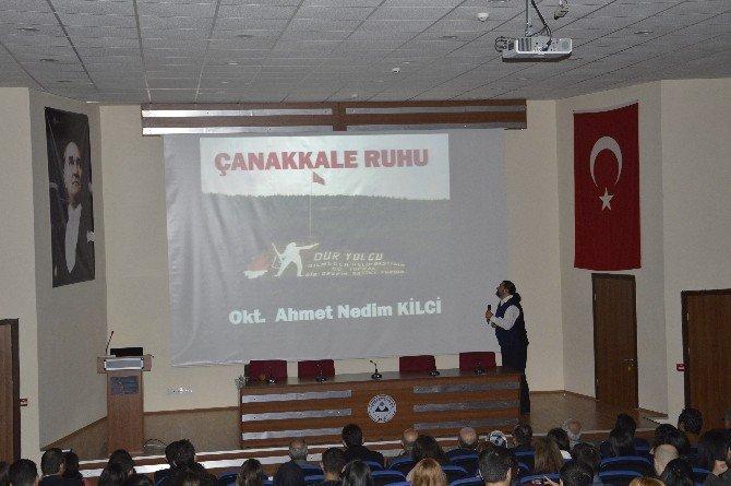 """ERÜ'de """"Çanakkale Ruhu"""" Anlatıldı"""