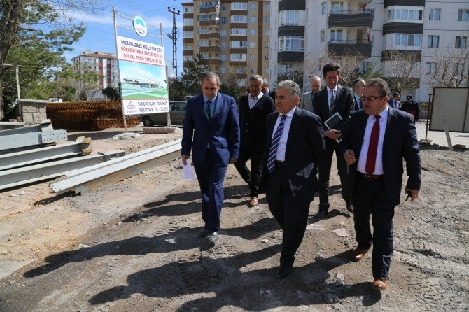 Gökkent Mahallesi Kapalı Pazar Yeri Ve Sosyal Tesisi Sosyal Yaşamı Değiştirecek