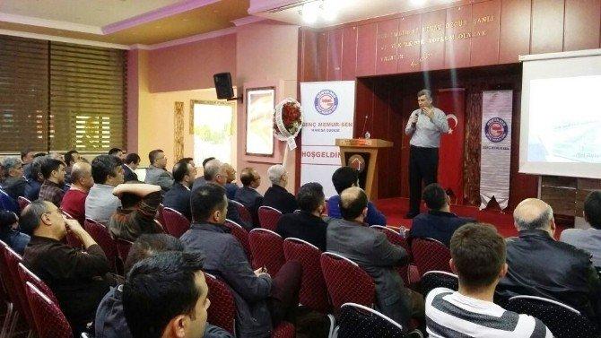 Genç Memur-sen'den Kudüs Ve Mescid-i Aksa Konferansı