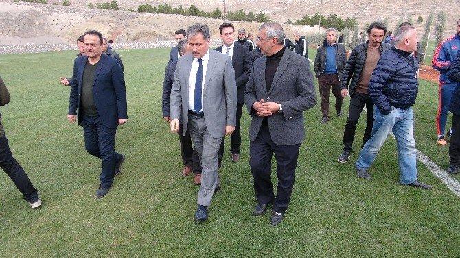 Başkan Çakır, Nurettin Soykan Tesisleri'nde İncelemelerde Bulundu
