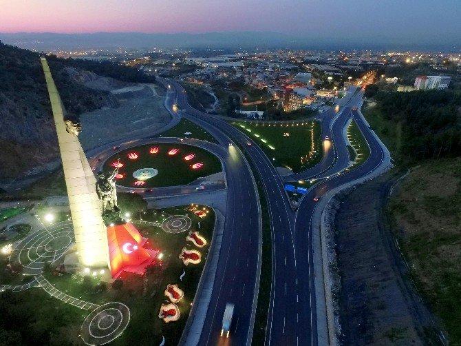 Kuva-yı Milliye Anıtı'na Peysaj Çalışması