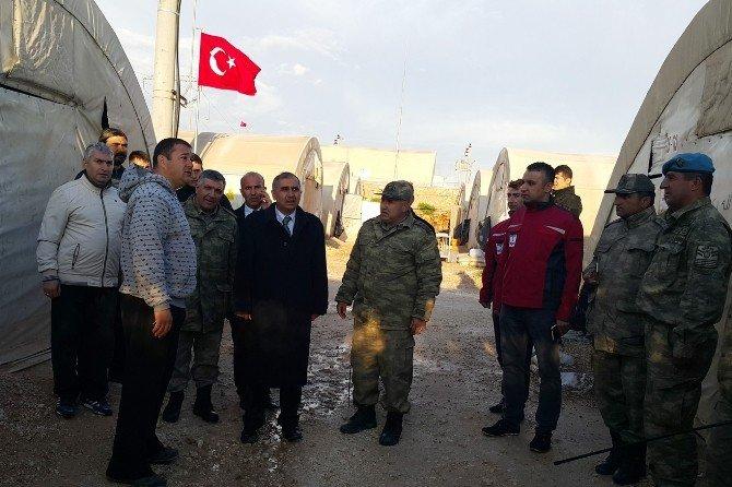 Validen Nusaybin'deki Polis Ve Askerlere Moral Ziyareti