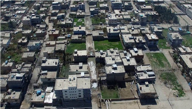 Nusaybin'deki Tahribatın Fotoğrafları