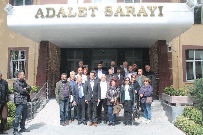 CHP'liler Cumhurbaşkanı Hakkında Suç Duyurusunda Bulundu