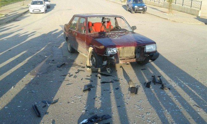 Kampusteki Kazada 4 Öğrenci Yaralandı
