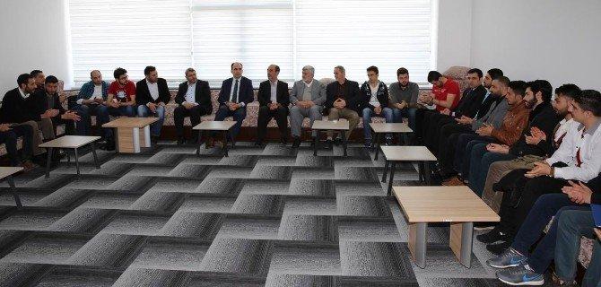 Başkan Altay Suriyeli Öğrencilerle Buluştu