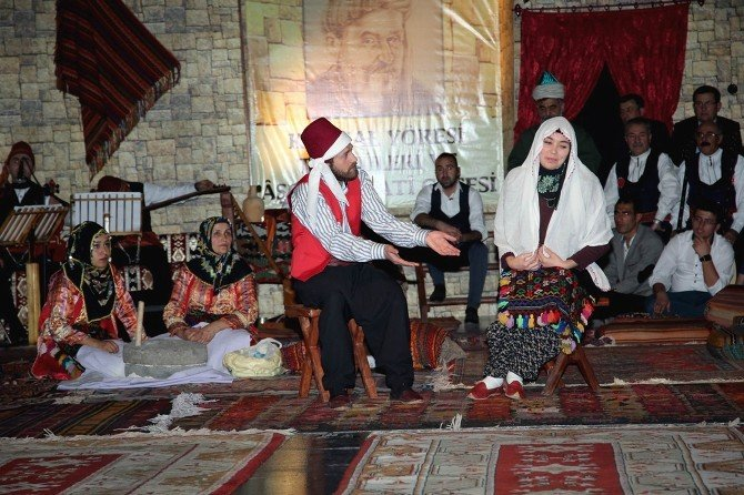 Sivas'ta Aşık Ruhsati Gecesi Düzenlendi