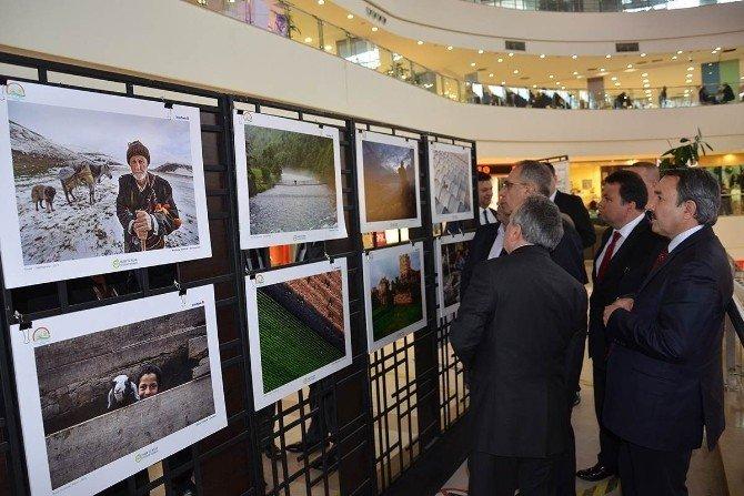 """""""Tarım Ve İnsan"""" Konulu 7. Ulusal Fotoğraf Sergisi Tekira Avma'de Açıldı"""