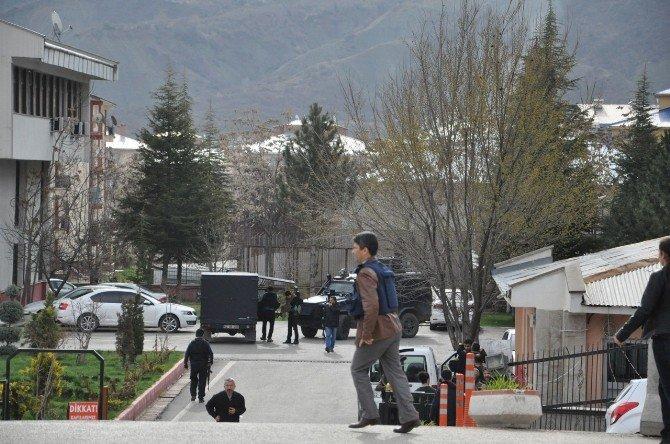 Tunceli'de Polis Kontrol Noktasına Saldırı