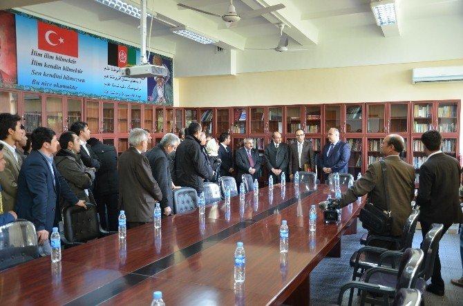 Afganistan Belh Üniversitesi'ne Donanım Desteği
