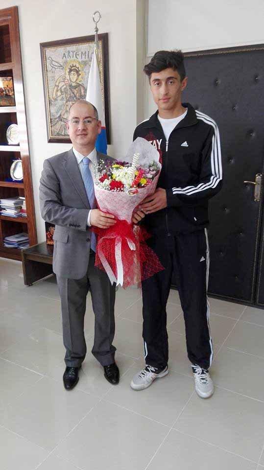 Erzinli sporcu Voleybol Milli Takımına davet edildi.