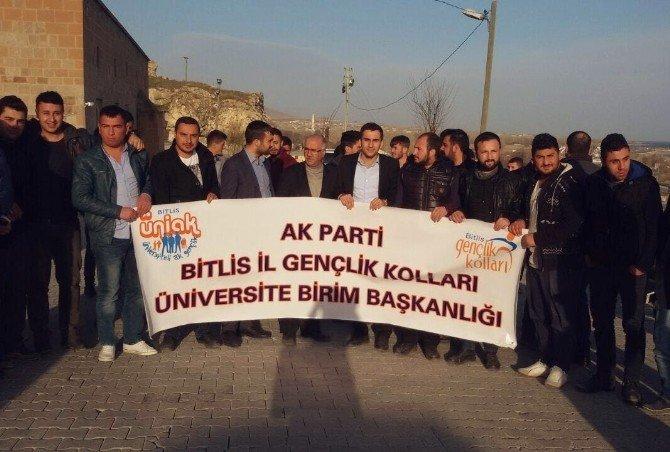 Üniversite Öğrencileri Adilcevaz'ı Gezdi