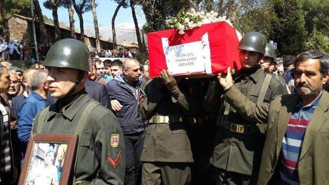 Hayatını Kaybeden Uzman Çavuşa İzmir'de Veda
