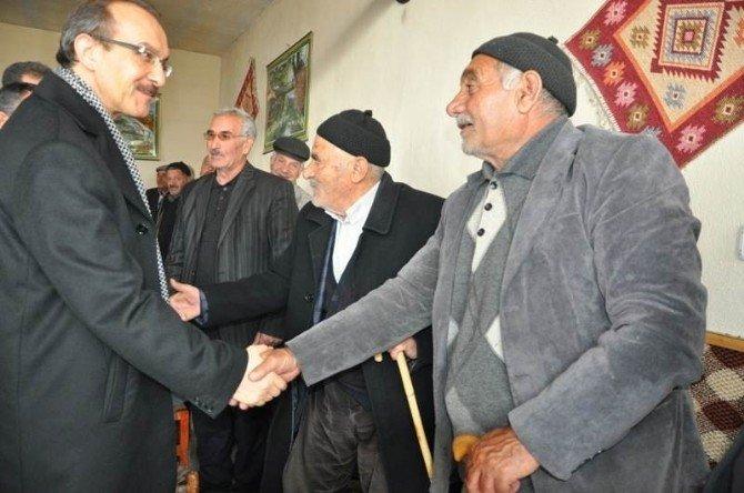 Vali Yavuz'dan Serinova'ya Ziyaret