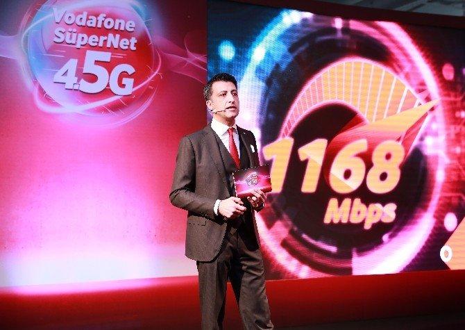 """Öğüt: """"Vodafone, 1 Nisan'da Türkiye'nin Dört Bucağını 4.5g İle Tanıştıracak"""""""
