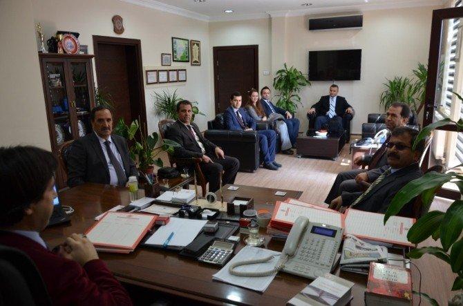 Bilecik Cumhuriyet Başsavcısı Bekir Şahin'e Veda Ziyaretleri Başladı