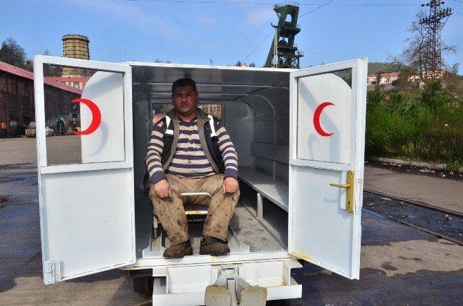 'Vagon Ambulans', Maden Ocaklarında Hayat Kurtaracak
