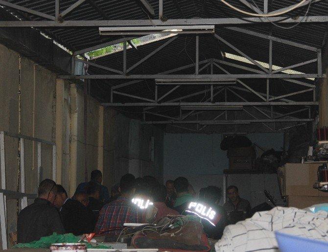 Çatıdan Düşen Polisi Kurtarma Seferberliği