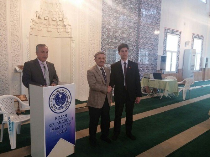 Genç Sada Kur'an-ı Kerim'i Güzel Okuma Yarışması Yapıldı