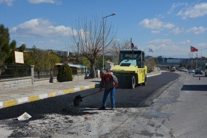 Altınşehir Mahallesinde Asfaltlama Çalışması Yapıldı