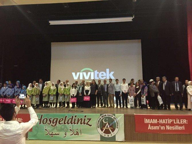 Arapça Şiir, Şarkı Ve Hikaye Canlandırma Yarışması Yapıldı