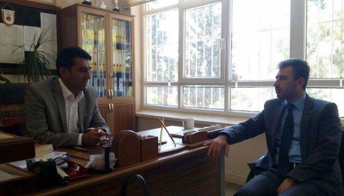 Başkan Dimez'den, Bağcı'ya Ziyaret
