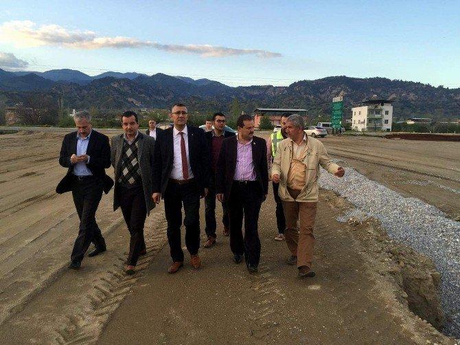 AK Parti'li Öz'den Aydınlılara Çevre Yolu Müjdesi