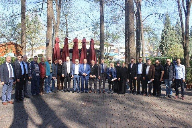 AK Parti Sakarya İl Başkanı Fevzi Kılıç, Basın Mensuplarıyla Buluştu