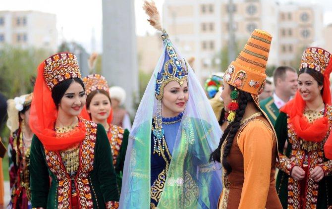 Türkmenistan'da kültürler buluştu