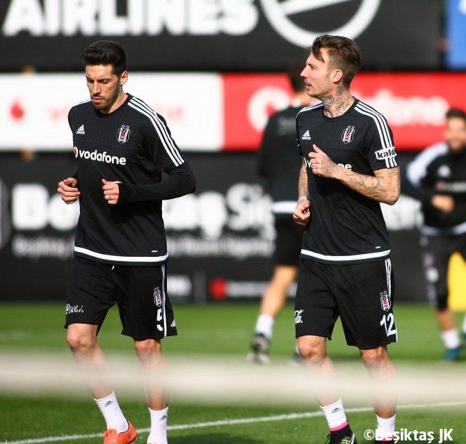Beşiktaş, Kasımpaşa maçı hazırlıklarına devam etti