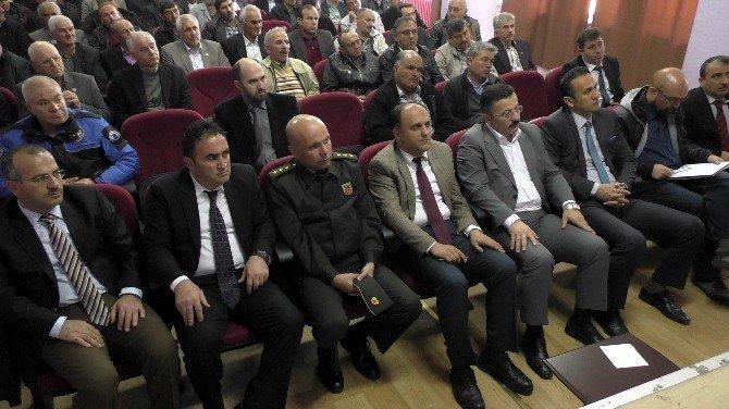 Beyşehir'de İlçe Güvenlik Danışma Kurulu Toplantısı