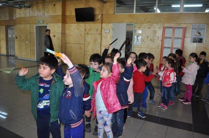 Anaokulu Öğrencilerinden NKÜ'ye Ziyaret