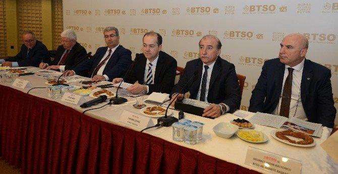 BTSO Sektörel Konseyler Gündem Belirlemeye Devam Ediyor