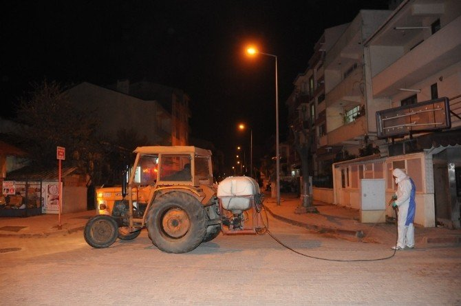 Çan Belediyesi İlaçlama Çalışmalarına Başladı