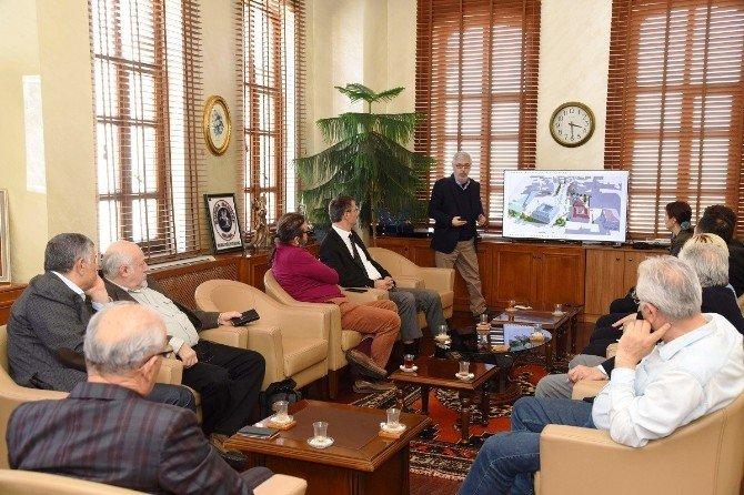 Çekül Vakfı, Saathane Meydanı Projesini Tanıttı