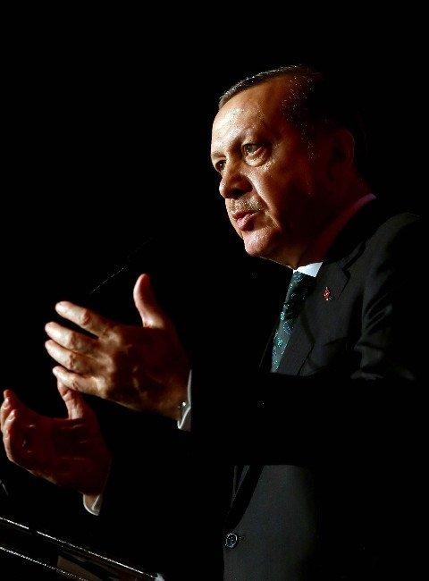 Cumhurbaşkanı Erdoğan ABD'de Konuştu