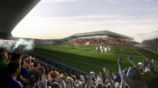 Yeni Gaziosmanpaşa Stadyumu Göz Dolduracak