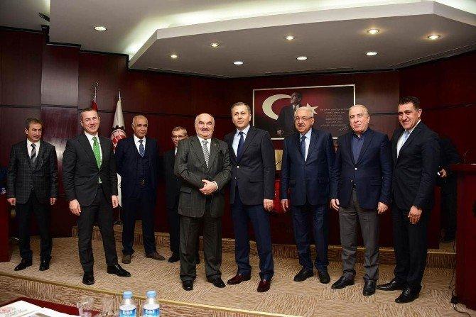 GTO Mart Ayı Meclisi Vali Ali Yerlikaya'nın Katılımıyla Yapıldı