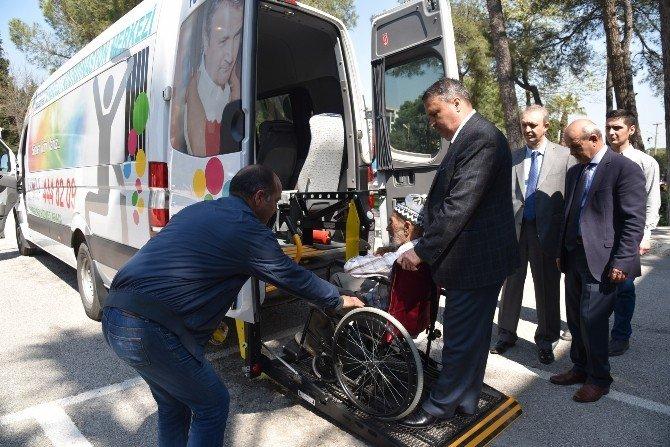 Engelli Vatandaştan Başkan Çerçi'ye Teşekkür