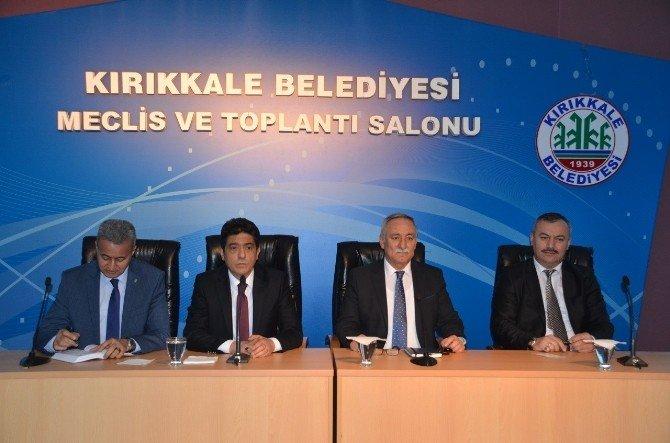 Kırıkkale Belediyesi'nde Halk Günü Toplantısı