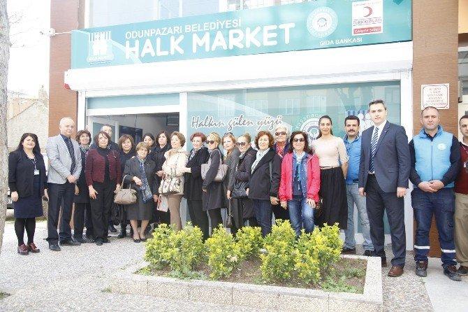 Eskişehir Kadın Platformu 'Halk Market'te