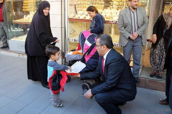 Konya Emniyet Müdürü Demir'den Esnaf Ziyareti