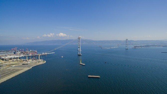 Körfez Geçiş Köprüsü Havadan Görüntülendi
