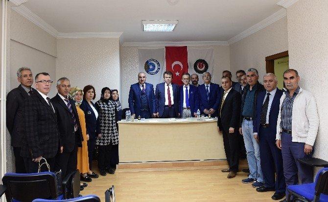Başkan Erkoç'tan Hizmet-iş'e Ziyaret