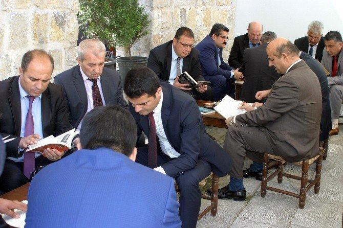 Kahramanmaraş'ta Kitap Okuma Etkinliği