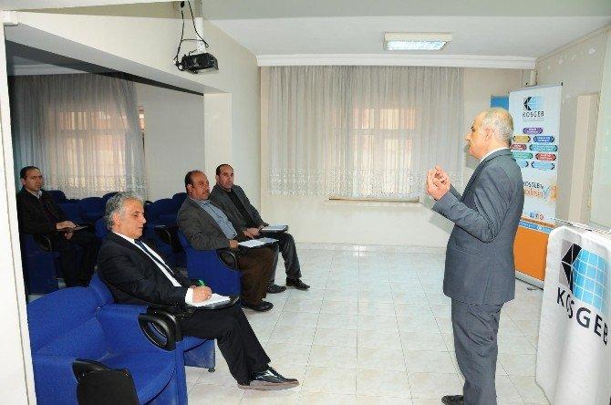 Muş TSO'da Bilgilendirme Toplantısı